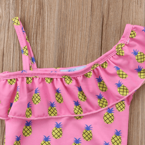 Kiel Pineapple Swimsuit by Elsewhereshop