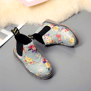 Kira Floral Boots by Elsewhereshop