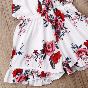 Kizzie Floral Haltered Romper by Elsewhereshop