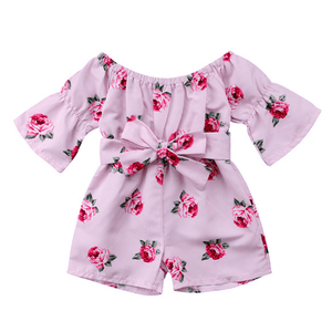 Kristelle Floral Romper by Elsewhereshop
