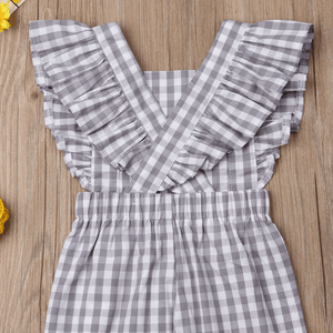 Lischelle Plaid Jumpsuit by Elsewhereshop