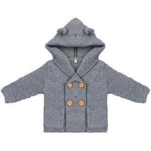 Little Sam Hooded Cardigan by Elsewhereshop