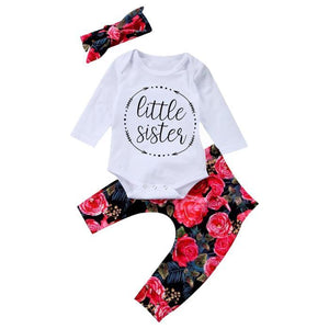 Little Sister Floral Set by Elsewhereshop
