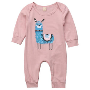 Madison Llama Jumpsuit by Elsewhereshop