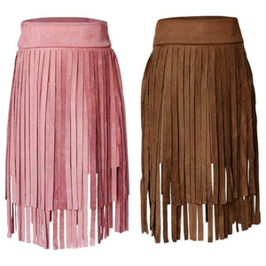 Luanne Tassel Skirt by Elsewhereshop