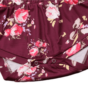 Mia Floral Romper Set by Elsewhereshop