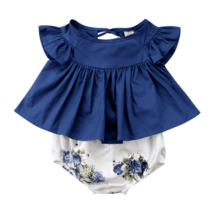 Michelle Ruffle Set by Elsewhereshop