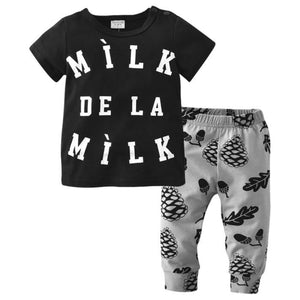 Milk in Black Set by Elsewhereshop