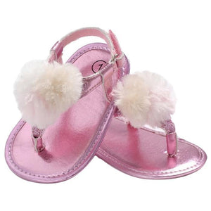 Mizuki Fur Sandals by Elsewhereshop