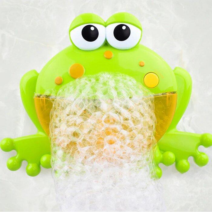 Mr. Bubble Music Frog by Elsewhereshop