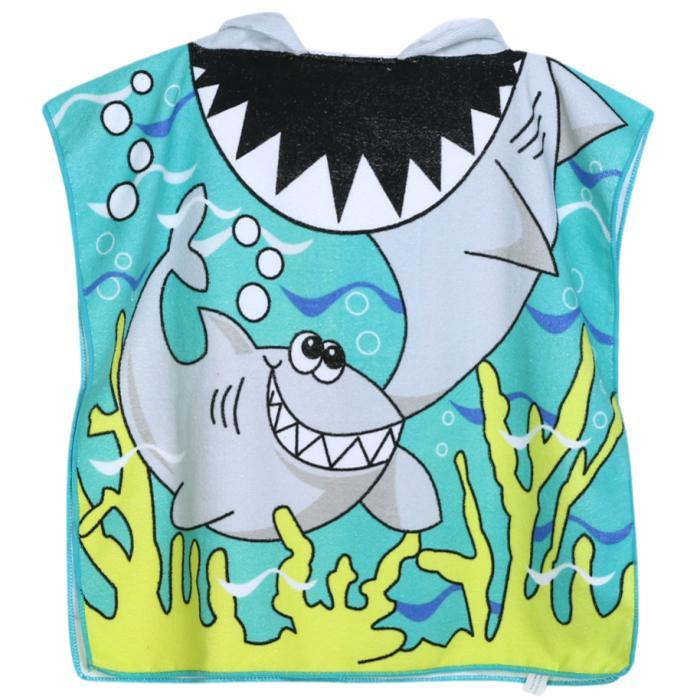 Mr. Shark Hooded Bath Towel by Elsewhereshop