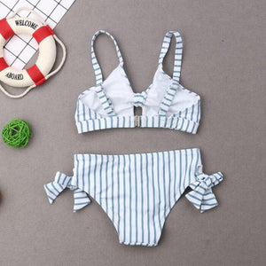 Nadia Stripes Bathing Suit by Elsewhereshop