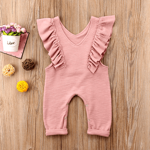 Nikki Ruffle Jumpsuit by Elsewhereshop