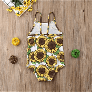 Nina Sunflower Romper by Elsewhereshop