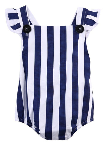 Blue Stripes Sunsuit
