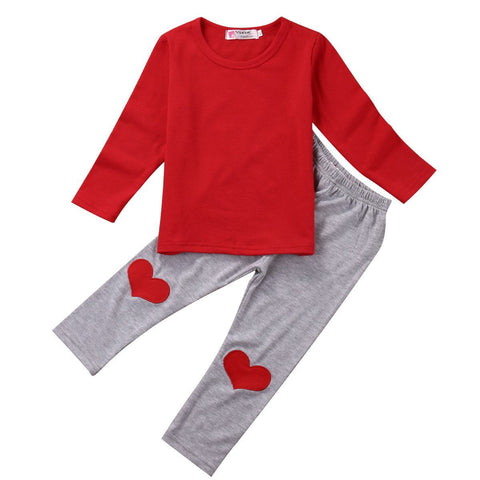 Plain & Heart Set