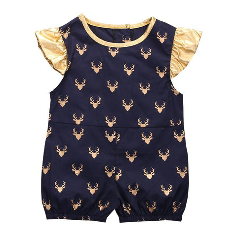 Deer Romper Set