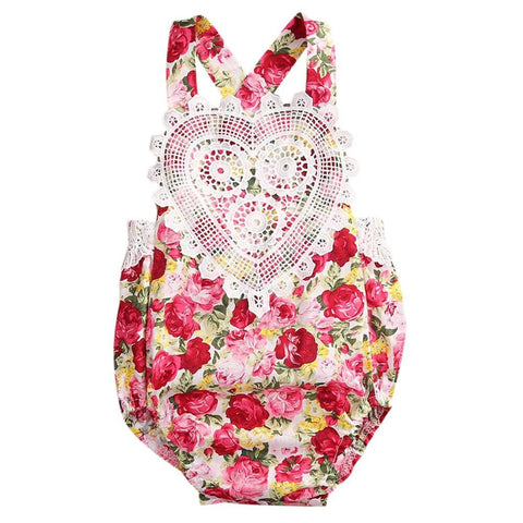 Blooming Heart Sunsuit