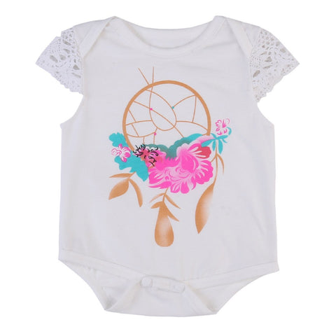 Floral Dreamcatcher Bodysuit