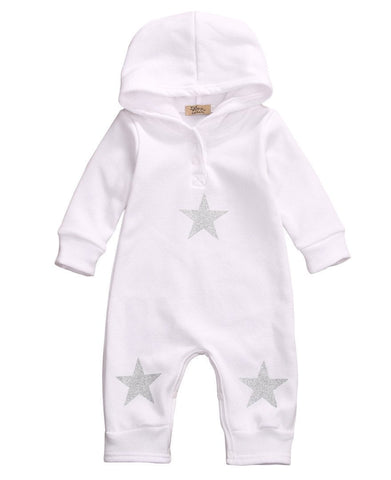 Star Hooded Jumpsuit