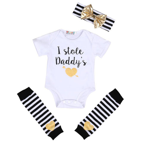 I Stole Daddy's Heart Set