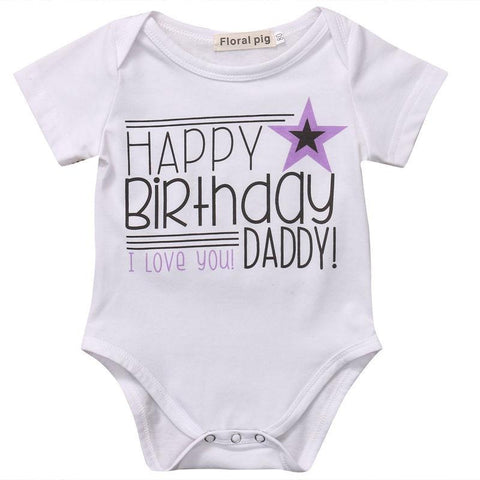 Happy Birthday Daddy Bodysuit