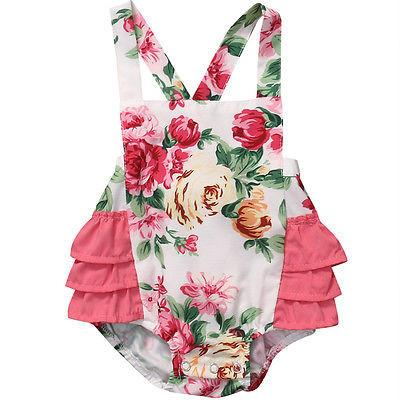 Floral Sunsuit