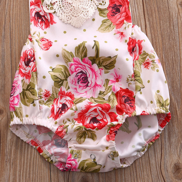 Shirley Floral Sunsuit