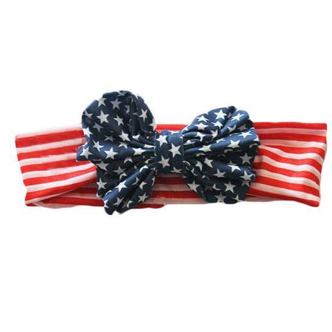 American Flag Headband Set