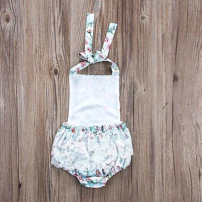 Gracie Floral Sunsuit