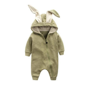 Zippered Bunny Jumpsuit by Elsewhereshop