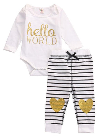 Hello World Heart Set