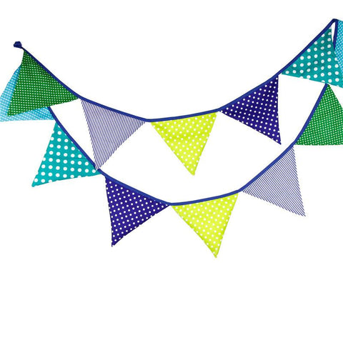 Dots and Stripes Bunting Flags