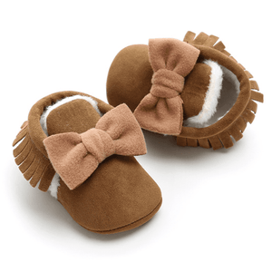 Renei Tassel Bow Shoes by Elsewhereshop