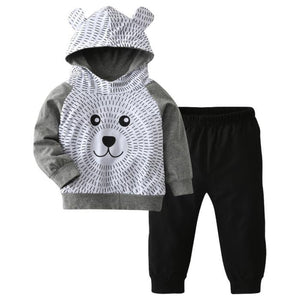 Sandro Bear Hoodie Set by Elsewhereshop