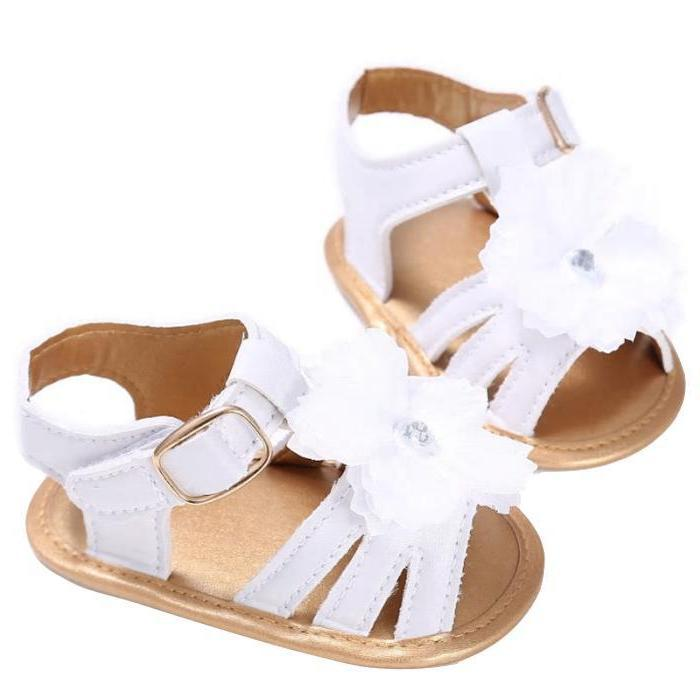 Shaina Flower Sandals by Elsewhereshop