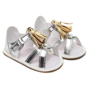 Shanice Tassel Sandals by Elsewhereshop