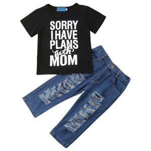 Sorry I Have Plans With Mom Set by Elsewhereshop