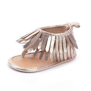 Sparkle Tassel Sandals by Elsewhereshop