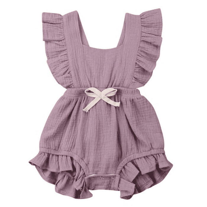 Vantrice Ruffled Romper by Elsewhereshop