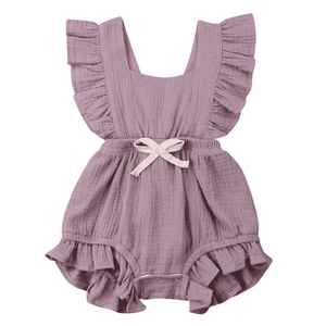Vantrice Ruffled Romper + 50% OFF Sandals!!!