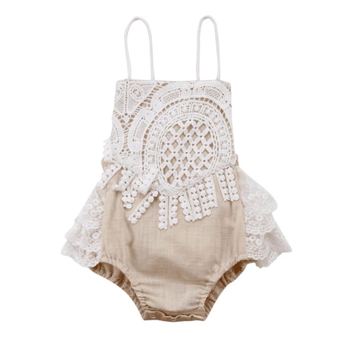 Vera Lace Romper by Elsewhereshop