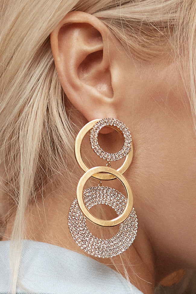 Sunshine Earrings (Big) - Arium Collection