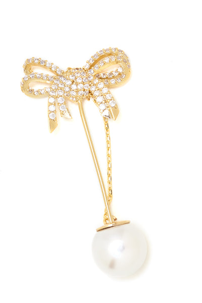 Ribbon Boutonniere Brooch - Arium Collection