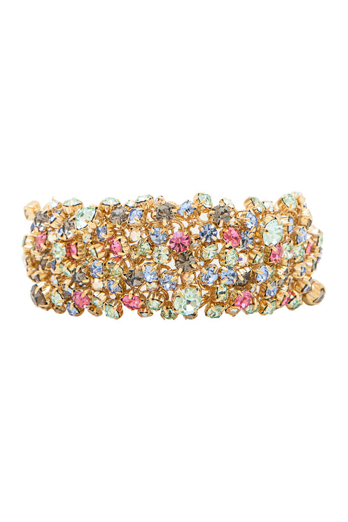 Sleeping Beauty Bracelet in Gold/Multi - Arium Collection