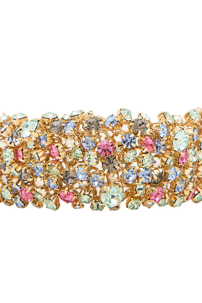 Sleeping Beauty Bracelet in Gold/Multi