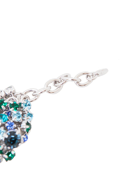 Sleeping Beauty Bracelet in Rhodium/Multi