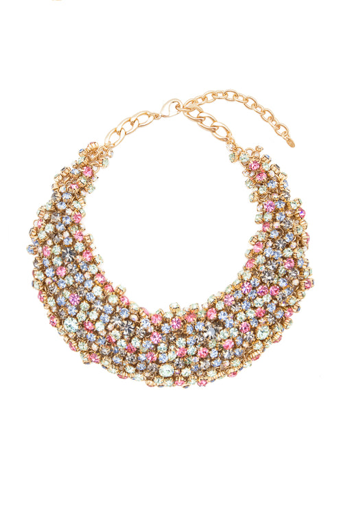 Sleeping Beauty Necklace in Gold/Multi - Arium Collection