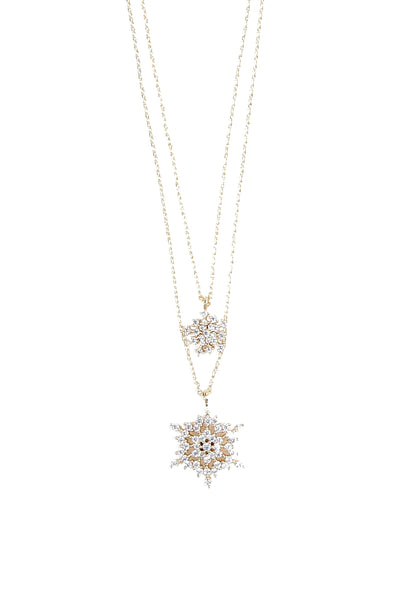 Frozen Double Necklace - Arium Collection