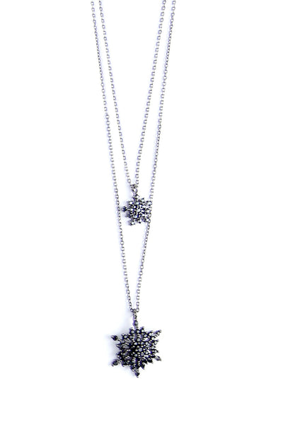 Frozen Double Necklace
